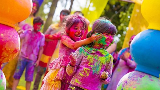 Holi is a Popular Festival in India