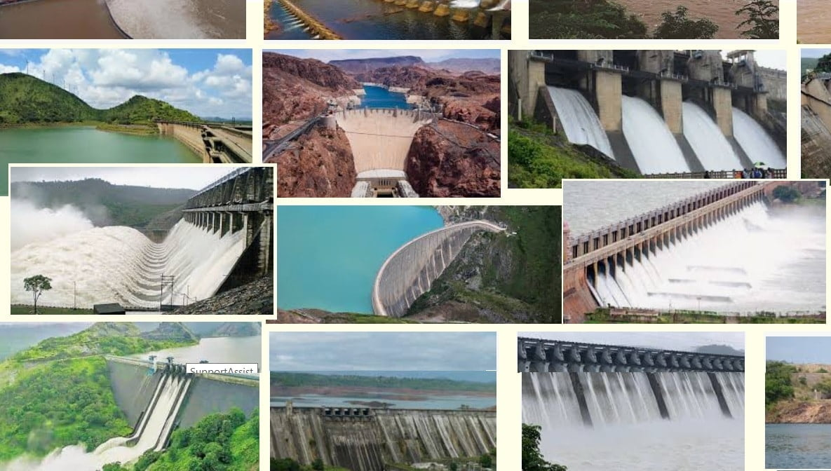 Top dams in India