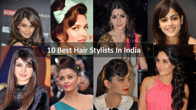 10 best hairstylists in india